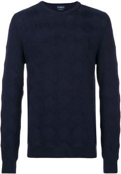 Ballantyne square textured sweater