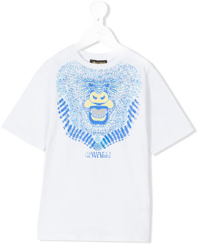 Roberto Cavalli monkey print t-shirt