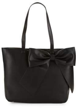 Karl Lagerfeld Fara Leather Bow Tote
