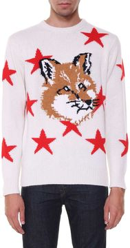 Kitsune Sweater With Fox Head