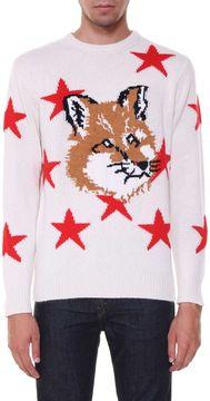 Kitsune Sweater With Fox Head