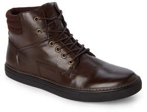 English Laundry Brown Hopewood Leather Sneakers