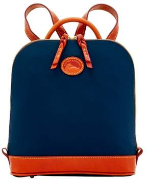 Dooney & Bourke Nylon Zip Pod Backpack - NAVY - STYLE