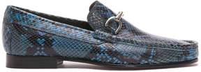 Donald J Pliner DARRIN, Pitone Print Leather Loafer