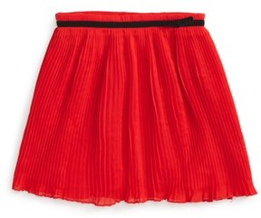 Kate Spade Girl's Pleated Chiffon Skirt