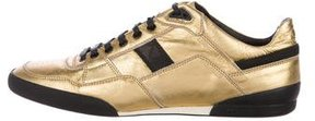 Christian Dior 2007 Metallic Leather Sneakers