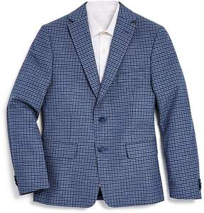Michael Kors Boys' Check Sport Coat - Big Kid