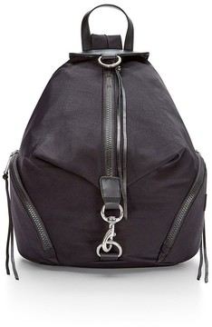 Rebecca Minkoff Julian Nylon Backpack - BLACK - STYLE