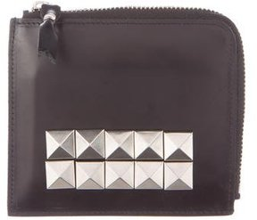 Comme des Garçons Studded Leather Compact Wallet
