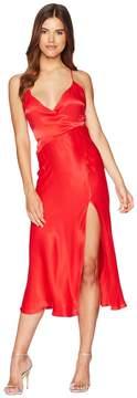 Bardot Wrapped Split Dress Women's Dress