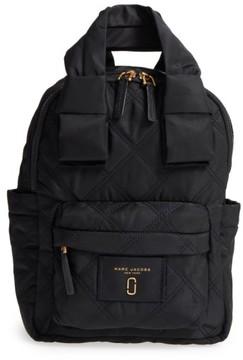 Marc Jacobs Nylon Knot Backpack - Black - BLACK - STYLE