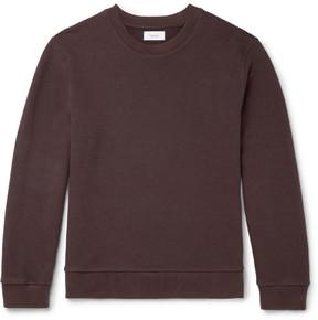 Fanmail Loopback Organic Cotton-Jersey Sweatshirt