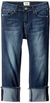 Hudson Skinny Roll Cuff Crop in Oxford Blue Girl's Jeans