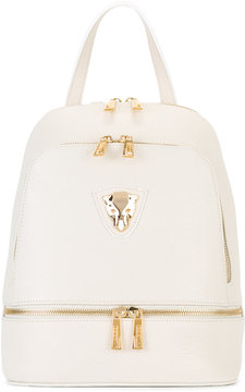 Baldinini gold-tone zips backpack