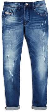 Diesel Boys' Darron Regular Slim Fit Jeans - Big Kid
