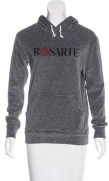 Rodarte Hooded Printed Sweater