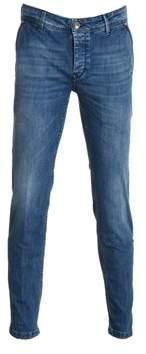 Re-Hash Men's Blue Cotton Jeans.