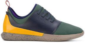 Bally colour block sneakers