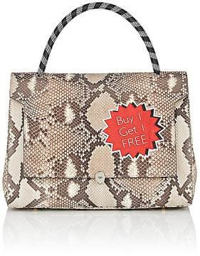 Anya Hindmarch WOMEN'S BATHURST PYTHON SATCHEL