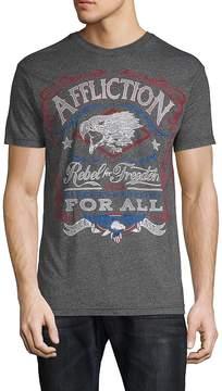 Affliction Men's Freedom Rebel Tee