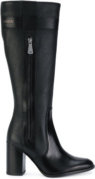 Armani Jeans side zip boots