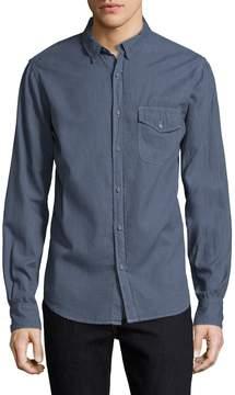Save Khaki Men's Melange Flannel Sportshirt