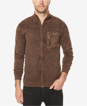 Buffalo David Bitton Men's Vintage Zip-Front Sweater