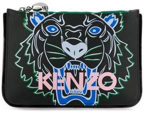 Kenzo Tiger-print pouch