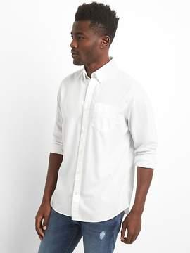 Gap True Wash Poplin Shirt with Stretch