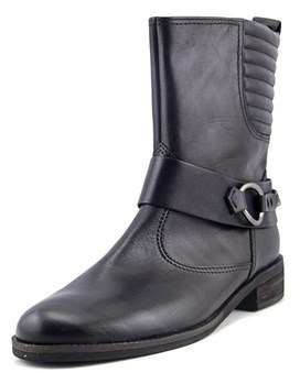 Gabor 92.794 W Round Toe Leather Ankle Boot.