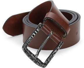 Diesel Men's Slim Leather Belt