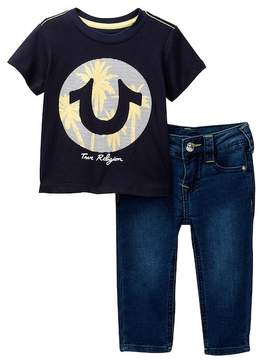 True Religion California Dreamin Tee & Jeans 2-Piece Set (Baby Boys)