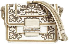 Etro Embroidered Grosgrain Shoulder Bag