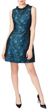 Betsey Johnson Women's Embellished Jacquard Dress