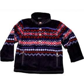 Polo Ralph Lauren Infant Nordic Fiar Isle Polar Fleece Mockneck Sweater Sz: 18M