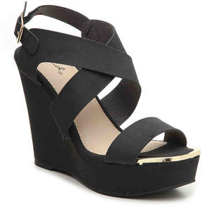 Qupid Kelsey-63AX Wedge Sandal - Women's