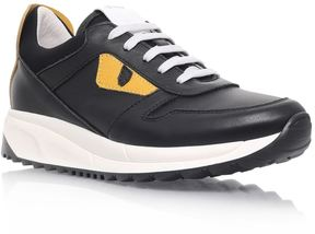 Fendi Monster Eyes Lace-Up Sneakers