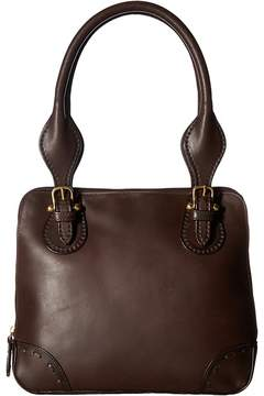 Scully Brandy Multi-Compartment Handbag Handbags