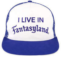 Disney ''I Live in Fantasyland'' Trucker Hat for Adults