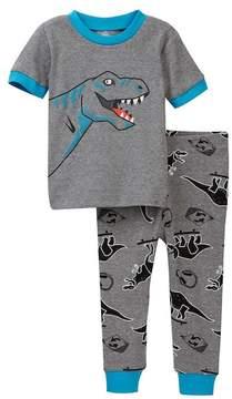 Petit Lem Dino 2-Piece PJ Set (Baby Boys)