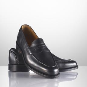 Ralph Lauren Singleton Calf Loafer