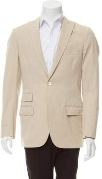 Michael Bastian Silk-Blend One-Button Blazer