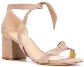 Alexandre Birman tie front block heel sandals