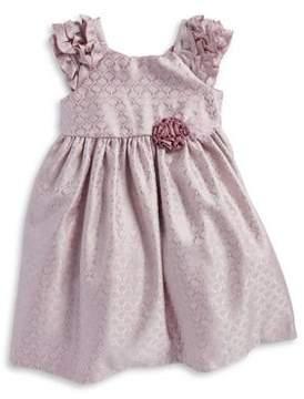 Laura Ashley Little Girl's Jacquard Dress