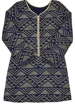 Billieblush GLITTERED JACQUARD DRESS