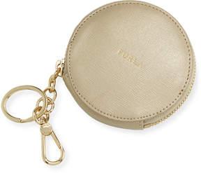 Furla Classic Saffiano Coin Case, Gold