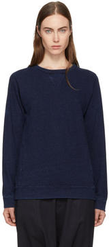 Blue Blue Japan Indigo Yarn-Dyed Sweatshirt
