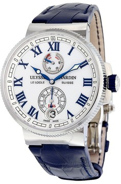 Ulysse Nardin Marine Chronometer White Dial Automatic Men's Watch
