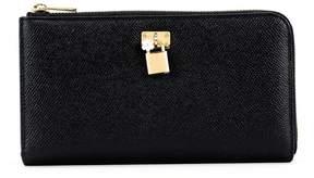 Dolce & Gabbana Black Padlock Wallet - BLACK - STYLE