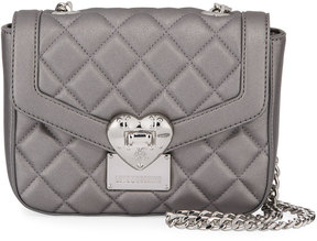 Love Moschino Faux-Leather Quilted Shoulder Bag